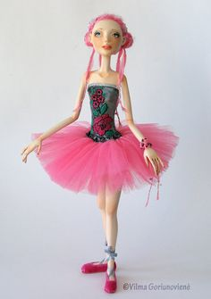 "OOAK Art Doll ""Ready for a dance"""