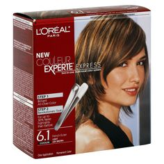 L'Oreal Paris Couleur Experte All Over Color and Highlights - Light Ash Brown - 1 Kit At Home Hair Color, Color Your Hair, Ombre Hair Color, New Hair Colors, Colored Highlights, Hair Highlights, Brown Highlights, Hair Highlight Kit, Colors