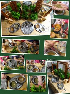 "Exploring herbs and spices from Rachel ("",)"