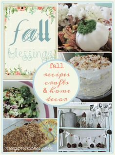 Fall Recipes, Crafts, and Home Decor for every home and style was created for the everyday family. Delicious recipes, crafts, home decor and more.