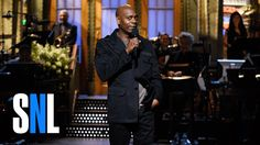 #DaveChappelle Stand-Up Monologue - #SNL  Welcome back, Dave!  You've been missed.  Bravo on your SNL monolog  Please stay around--we really need your insight now. #SaturdayNightLive  © Raynetta Manees, author http://amzn.to/1aCC4Mx