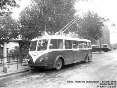 Paris - Trolleybus - CS60 - Porte de Champerret - RATP