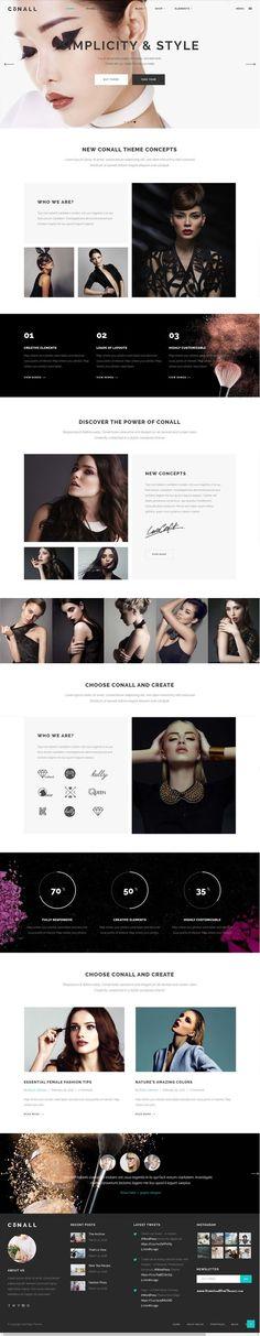 Website Design inspiration - Hair Salons