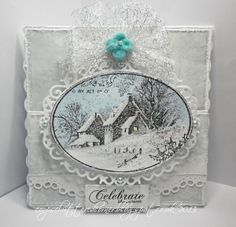 coops cluttered corner: Search results for snowy postcard Aniseed, glacier blue, antique white