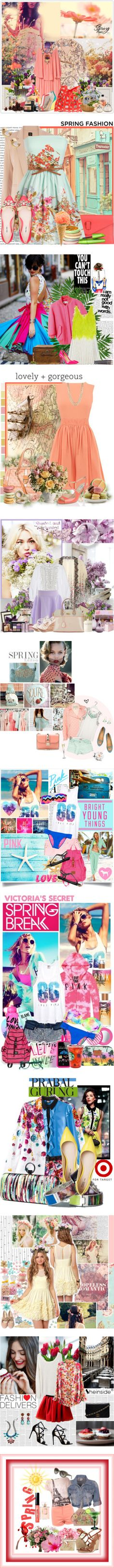 """SPRING ♥"" by jennie2104 ❤ liked on Polyvore"