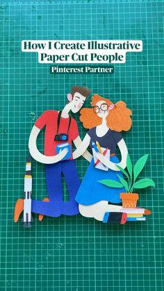 People Illustration, Character Illustration, Graphic Illustration, Illustrations, Paint Pens, Paint Markers, World Art Day, Study Websites, Clear Glue