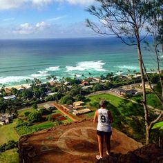 5. If you're looking for a short and sweet hike, try the Ehukai Pillboxes.