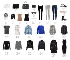Spring/summer capsule wardrobe | Light by Coco