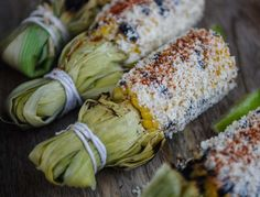 The adorable husk handle makes this simple grilled corn perfect for a party. Make it in August when corn is abundant and super sweet. To take this dish to the next level, finish with mexican …