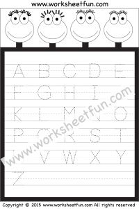 Small Letter Tracing – Lowercase – Worksheet | Letter Tracing ...