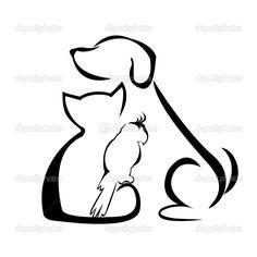 cat silhouette tattoo - Google Search