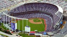 Kaufman Stadium, Home of the Royals-Went when they played the Oakland A's