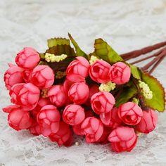 Barato 2015 Houseware decoração de flores rosa Artificial decorativa flores coroas de flores festa de casamento decoração, Compro Qualidade Flores & coroas decorativas diretamente de fornecedores da China:                  1. China Post Ordinária pequenos pacotes Além disso, outros (russo):