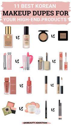 Makeup Routine, Makeup Kit, Skin Makeup, Makeup Brushes, Estee Lauder Double Wear, Etude House, Best Korean Makeup, Artist Makeup, Makeup Order
