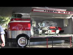 """1939 GM Futurliner """"Parade of Progress"""" at SEMA 2014 from Eastwood - YouTube"""