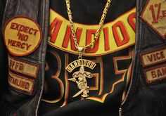 The Bandidos biker gang arrests have finally come after a undercover investigation by DEA, FBI and the Texas Department of Public Safety. Biker gang arrests of this magnitude are very rare, . Bandidos Motorcycle Club, Motorcycle Clubs, Biker News, Gang Beasts, Harley Davidson, Dallas, Texas Department, Firefighter, Patches