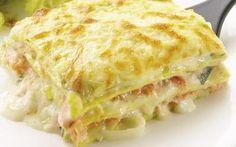 Softs e Receitas: Lasanha de frango com creme de queijo