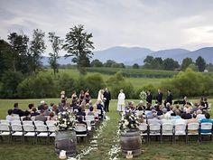 Veritas Vineyard Shenandoah Valley Wedding Site Virginia Weddings 22920 | Here Comes The Guide