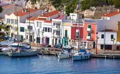 Mahón, or Maó as it is also known, is set on a ridge above the deep inlet that forms the harbour.