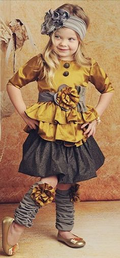 Little Ruffles for little girls!