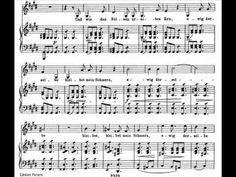 Dietrich Fischer-Dieskau sings Schubert 'Schwanengesang' - 5. Aufenthalt - Beautiful