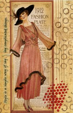 Kay Wallace: art journaling: USING PATTERNED PAPERS ON YOUR ART JOURNAL PAGE