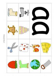 Dit werkblad en nog veel meer in de categorie leren lezen kun je downloaden op de website van Juf Milou. Free Preschool, Preschool Worksheets, Abc For Kids, School Posters, Phonics, Spelling, Lana, Alphabet, Teaching