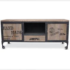 Vintage TV Unit | Industrial Furniture | Loft