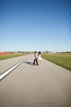 Airport engagement session. Cassandra Castaneda Photography. www.cassandracastanedaphoto.com