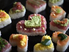 Make heart-shaped sushi for your Valentine! (Recipe Credit: Oregon Public Broadcasting)