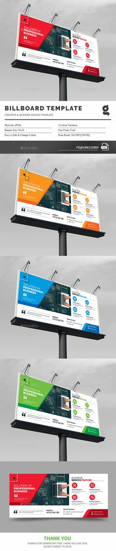 Travel Agency Billboard Template | Billboard, Template and Signage