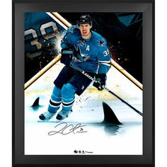 "Logan Couture San Jose Sharks Fanatics Authentic Framed Autographed 20"" x 24"" In Focus Photograph - Limited Edition of 29 - $119.99"