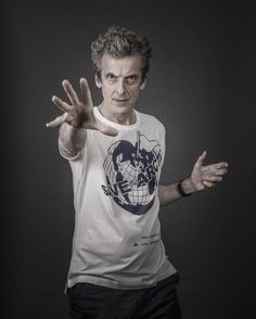 RT @ DrGotts: 'Doctor Mysterio saving the arctic!' The amazing Peter Capaldi shot for #SaveTheArctic #DoctorWho