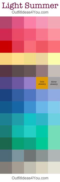 Soft Summer Color Palette | Soft summer color palette, Soft summer ...