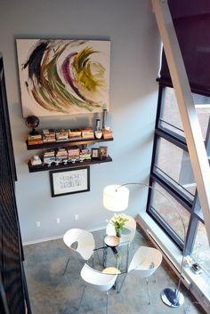 Dining Room shelving from West Elm via @Gilda Locicero Therapy