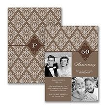 Find the most creative golden wedding anniversary invitations, presented discounted to per invite with Free golden anniversary party invitation wordings. Wedding Anniversary Words, Wedding Anniversary Invitations, Anniversary Parties, Golden Anniversary, Photo Invitations, Event Invitations, Invitation Ideas, Personalized Invitations, Espresso