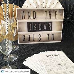 "I LOVE what @craftwarehouse did with my Lightbox for tonight's festivities!! If I wasn't so ""busy"" (all this pool side sitting) I would have totally had to throw an #oscars bash !! This rocks!! To all you who enjoy the fashion waaaaay more than the films... this ones for you!! #Repost @craftwarehouse with @repostapp. Are you ready for The Oscars? We love our Heidi Swapp Marquee Love Light Box! Makes any party festive #craftwarehouse #oscars #hslightbox #hsmarqueelove @heidiswapp by…"