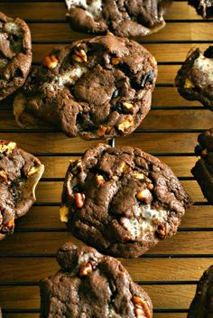 Rocky Road Cookies - A classic ice cream is transformed into a delicious and soft cookie. Rocky Road Cookies can be prepared quickly and will leave everyone asking you for the recipe!