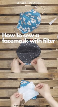 Sew a fitted Face Mask with this FREE PDF Sewing pattern from Stitchwerx Designs. This Face Mask Sewing Pattern includes 4 sizes to fit children to adults. This face mask is lined and has a pocket so you can add an extra filtration layer. Easy Sewing Patterns, Sewing Tutorials, Sewing Hacks, Sewing Crafts, Pattern Sewing, Free Pattern, Sewing Blogs, Sewing Basics, Sewing Tips