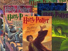 AJ and I read these together.  HP is the reason we remained friendly during his middle and high school years.