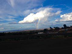 Rainbow in Loitokitok.