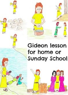 God Gave Gideon Courage Puppets Children S Bible