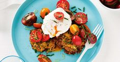 Get dinner on the table in no time with thses hearty vegetarian fritters. Tasty Vegetarian Recipes, Veggie Recipes, Healthy Recipes, Mole, Clean Eating Recipes, Cooking Recipes, Cooking Ideas, Food Ideas, Pumpkin Fritters