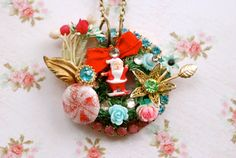 Kitsch Christmas Retro holiday collage by tiedupmemories on Etsy ~ so fun!