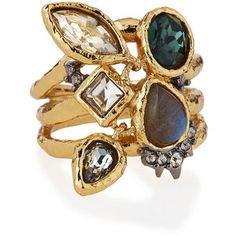 Alexis Bittar Elements Confetti Charm Cocktail Ring