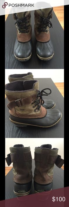 Sorel Women's Winter Fancy Lace II Boot Size 9 Great condition women's boots. Great for light snow and rain. Sorel Shoes Winter & Rain Boots