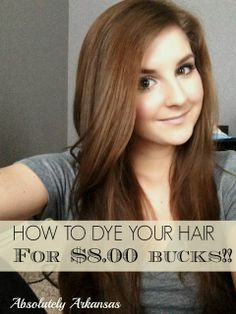 How to save HUNDREDS at the salon by Dying your hair at home! Easy to follow video tutorial included!