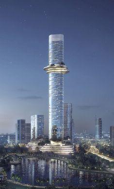 """Die 88 Stockwerke des """"Empire 88 Tower"""" werden einmal 333 Meter in den Himmel über Ho-Chi-Minh-Stadt ragen."""