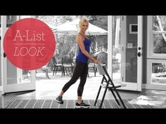 @FrancenePerel: This #exercise #video #workout #sweat #tone #fitness Francene Perel