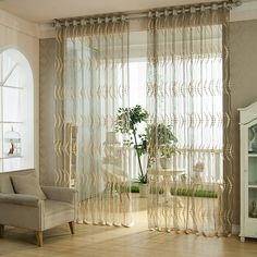 Cheap curtain background, Buy Quality curtain styles for large windows directly from China curtains material Suppliers:    2015 New Arrival Window Screening tulle leaf nature modern curtains for living room chinese sheer curtainUSD 16.65-52